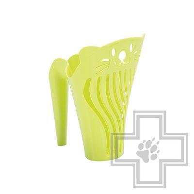 Beeztees Sylvesto Совок для кошачьего туалета, зеленый