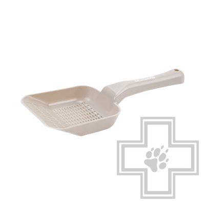 Beeztees Совок для кошачьего туалета мелкий, бежевый