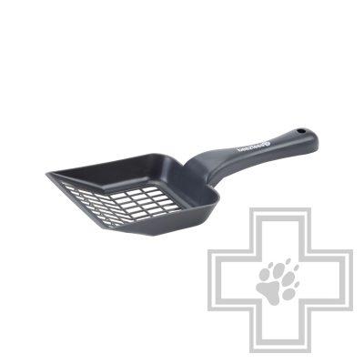 Beeztees Совок для кошачьего туалета крупный, антрацит