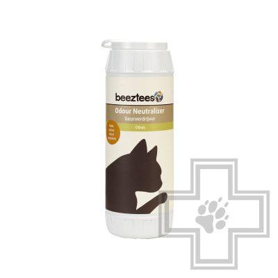 Beeztees Нейтрализатор запаха для кошачьего туалета Лимон, 750 г
