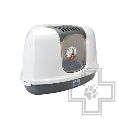 Beeztees Nestor Туалет-домик угловой для кошек