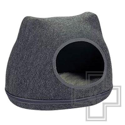 Beeztees Домик для кошек Yupik войлочный