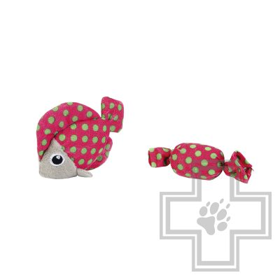"Beeztees ""Akwalas"" Игрушка текстильная для кошек (цена за 2 шт.)"