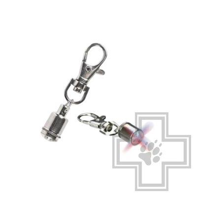 TRIXIE Брелок-маячок для собак и кошек 1 см, металл