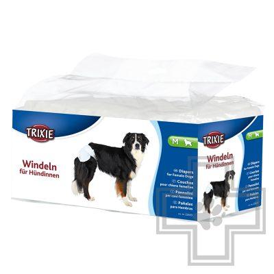 TRIXIE Подгузники для собак, размер М (32 - 48 см) (цена за 1 подгузник)