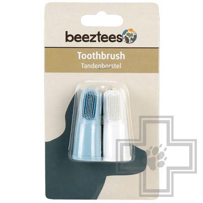 Beeztees Зубная щетка для собак, напальчник (2 шт.)