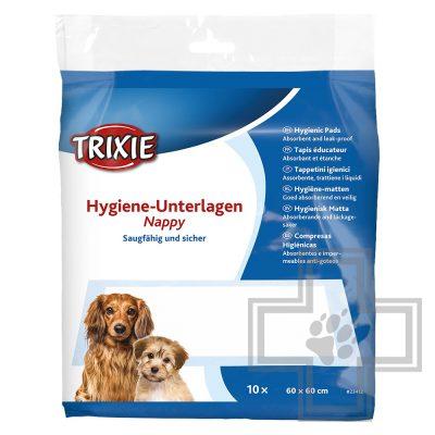 Trixie Одноразовые пеленки для собак, 60 х 60 см (цена за 1 пеленку)