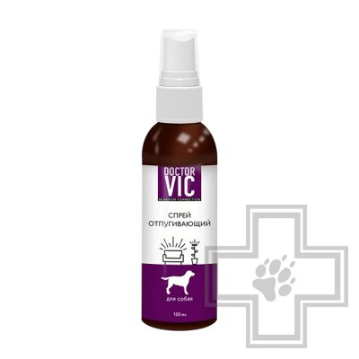 Doctor VIC Спрей отпугивающий для собак, 100 мл