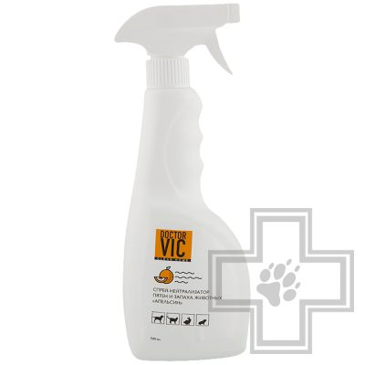 "Doctor VIC Спрей-нейтрализатор пятен и запаха ""Апельсин"", 500 мл"
