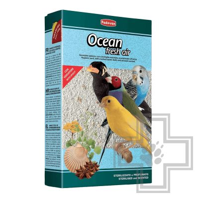 Padovan Ocean Fresh air био-песок для декоративных птиц