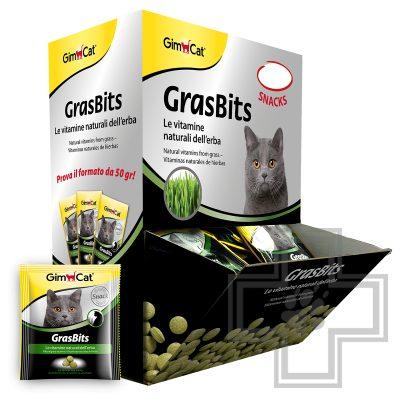 Gimcat GrasBits Витамины с травой для кошек