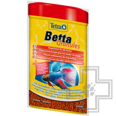 Tetra Betta Granules корм для бойцовских рыб