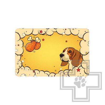 Triol Коврик под миску для собак Собачка
