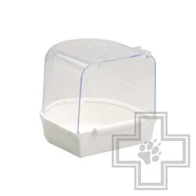 Beeztees 75011 Ванночка для птиц пластиковая белая