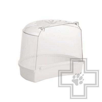 Beeztees 75001 Ванночка для птиц пластиковая малая,белая