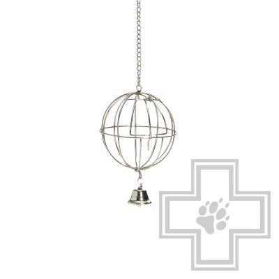 Beeztees 810564 Шар-кормушка для кролика с дверцей и колокольчиком