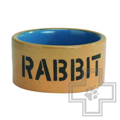 Beeztees Rabbit миска для кроликов керамическая
