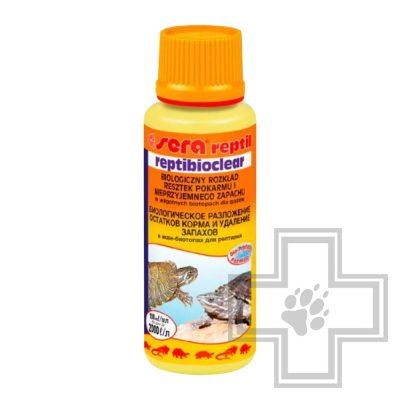 Sera Reptibioclear средство для водных черепах и рептилий