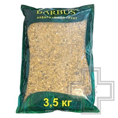 """BARBUS Gravel грунт """"Горный кварц"""" 2-7 мм (3,5кг)"""