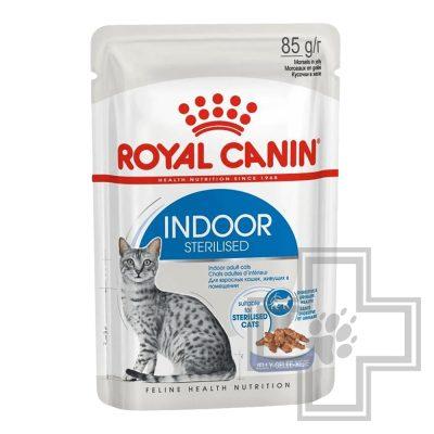 Royal Canin Indoor Sterilized Пресервы в желе для домашних стерилизованных кошек