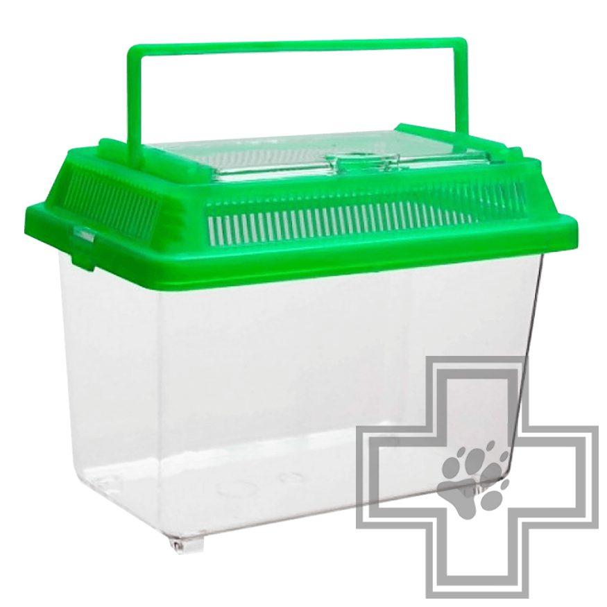 BARBUS Переноска-аквариумная BOX 003 пластиковая крышка
