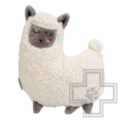 Beeztees Heartbeat Lama Игрушка-обнимашка для щенков с имитацией сердцебиения