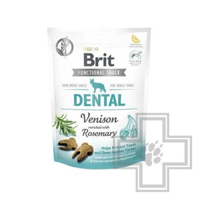 Brit Лакомство для собак с олениной Здоровье зубов