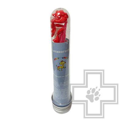 Crazy Liberty Антикоготки для кошек, размер L, красный