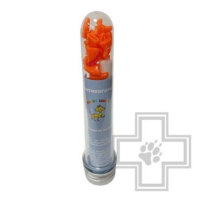 Crazy Liberty Антикоготки для кошек, размер L, оранжевый