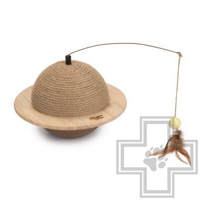 Beeztees Когтеточка-шар деревянный Wiggly
