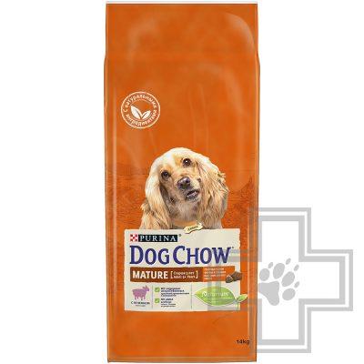 Pro Plan Dog Chow MATURE ADULT Корм для собак старше 5 лет, с ягненком