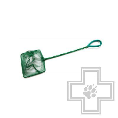 BARBUS Accessory 030 Аквариумный сачок с зеленой сеткой