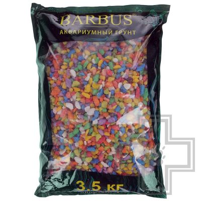 BARBUS Gravel 038 Цветная крошка микс 5-10 мм