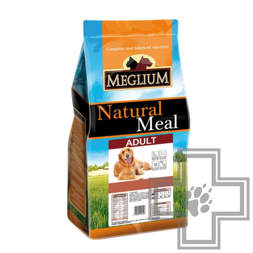 Meglium Natural Meal Adult Корм для взрослых собак всех пород