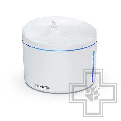 DOGNESS Автоматическая поилка-фонтан для домашних животных, белая